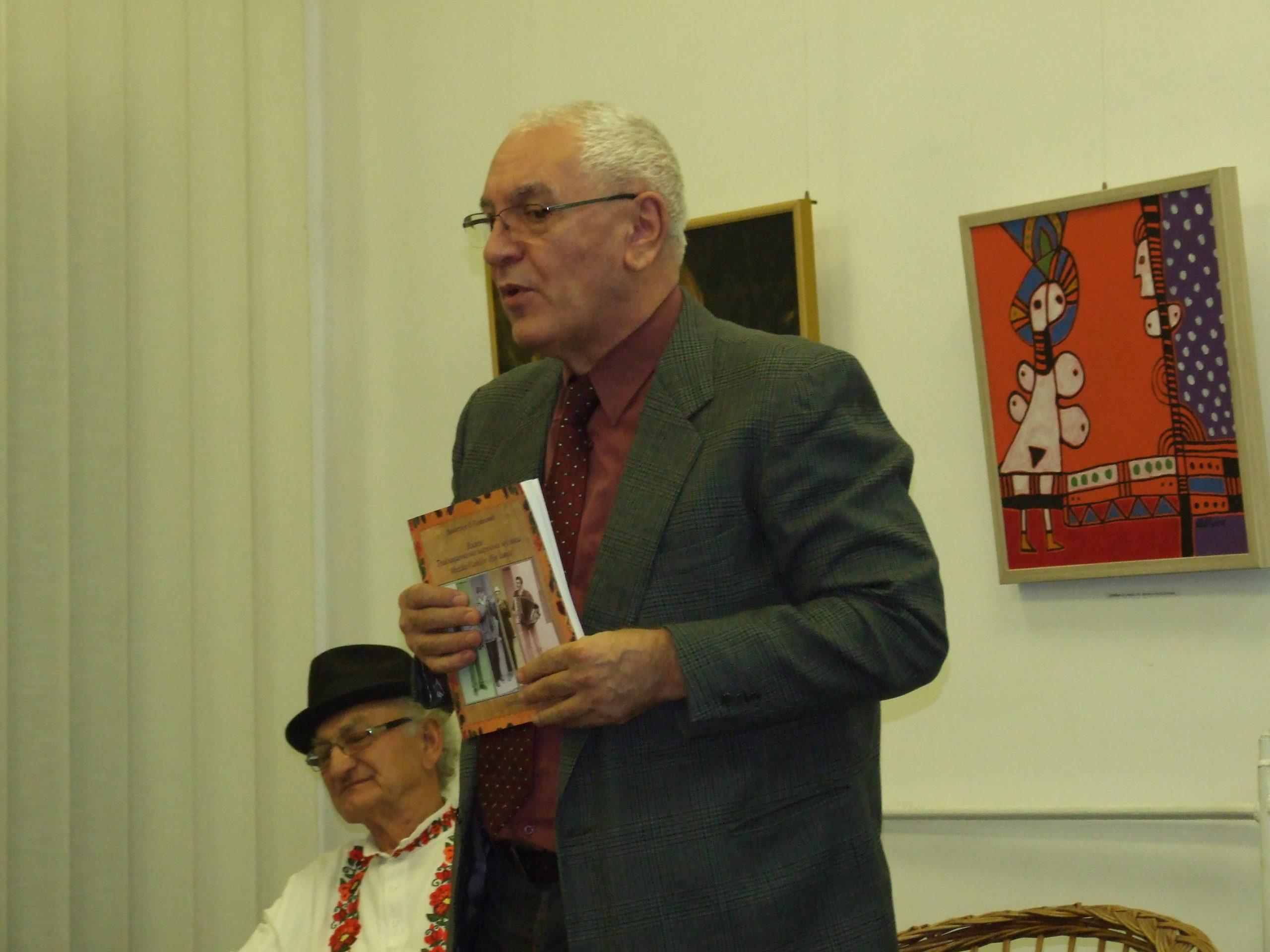 Negotin, 10 godina Udruženja Gergina, prof. dr Dimitrije Golemović, etnomuzikolog i kompozitor, foto SMJovanović